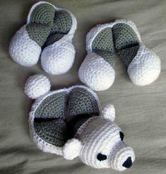 Super Cute Polar Bear Amamani Amigurumi Crochet Puzzle Ball