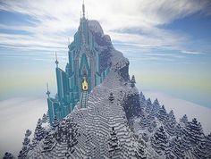 Elsa MINECRAFT castle