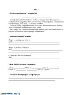L.română Interactive worksheet Romanian Language, Thing 1, School Subjects, School Lessons, Your Teacher, Google Classroom, Worksheets, Activities For Kids, Texts