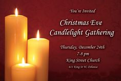 Christmas Flyer for King Street Church, a church in Oshawa, Canada. Flush Lighting, Cool Lighting, Lighting Ideas, Aquariums For Sale, Candle Lighting Ceremony, Christmas Flyer, Graphic Design Company, Outdoor Light Fixtures, Fashion Lighting