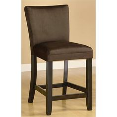 Empire Microfiber Chocolate Counter Stools (Set of 2) | Overstock.com Shopping - The Best Deals on Bar Stools $265/2