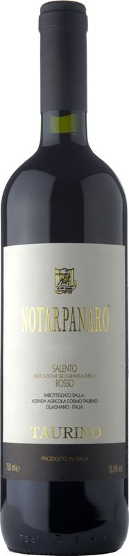 Salento Rosso Notarpanaro IGT - salute.pl