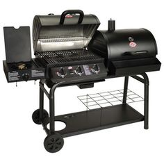 "Not the ""prettiest"" of the grills, but I'm not into pretty. I want the dual service: gas and charcoal!"