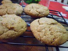 Vegan Thyme: Vegan Giant Ginger Molasses Cookies (And The Not-So-Secret Christmas Knitting)