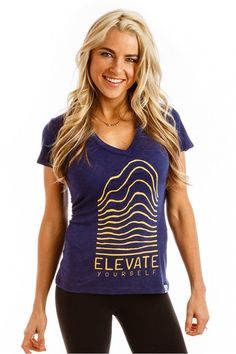 Elevate Yourself T - Ten Tree Apparel. Plants 10 trees for every item sold