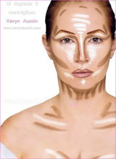"Kevin Aucoin, makeup contour in his book ""Making Faces."" He was seriously a God when it came it to makeup. Pure artistry."