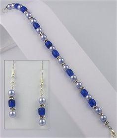 IDEA: Duchess Bracelet and Earring Set... LOVE it!