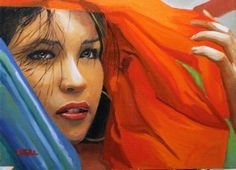 """Navis shipped this oil painting called """"Hope"""" by Peter O'Neill #art #packing #shipping"""