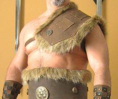 http://i.ebayimg.com/t/Medieval-Barbarian-Single-Leather-Shoulder-Armor-with-Fur-/00/s/NzQxWDg4NQ==/z/d-cAAMXQfFJRM~2x/$T2eC16hHJF0E9nmFTL6R...