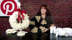 Allred Design Blog: IBP Door Decor Winter Burlap or Tulle Wreath
