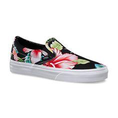 Hawaiian Floral Slip-On | Shop Classic Shoes at Vans