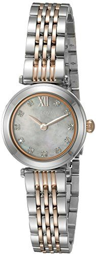Bulova Women's Quartz Stainless Steel Dress Watch (Model: 98P156) Bulova http://www.amazon.com/dp/B01AJFXBPQ/ref=cm_sw_r_pi_dp_fy7Zwb0DWKZXK