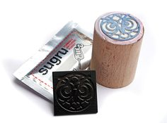 Make your own stamps by using Shapeways and Sugru!  #sugru #stamp #tampon
