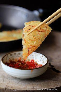 Chinese potato pancake