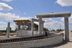 Budowa nowego odcinka drogi ekspresowej S7.