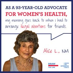 Womens health advocate