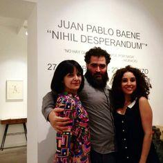 Nihil Desperandum. Una exposición de Juan Pablo Baene 27 de febrero - 22 de marzo 2015 Obra disponible en www.lafiambrera.net