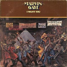 Marvin Gaye I Want You Reissued on Vinyl LP From Universal Records! Marvin Gaye's 1976 album I Want You marked a change in direction for Gaye as he traded in his signature Motown soul for lush, f Marvin Gaye, Lps, Lp Vinyl, Vinyl Records, Vinyl Art, Ernie Barnes, Musica Online, Pochette Album, Soul Singers