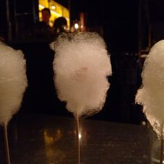 Cotton candy foie gras at The Bazaar by Jose Andres... a cloud of deliciousness! <3