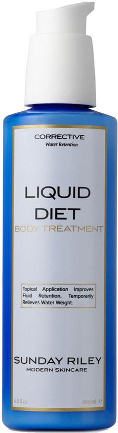 Sunday Riley Liquid Diet Body Treatment Eine SOS-Lotion für den ganzen Körper, der sofort eine schlankere Silhouette zaubert!