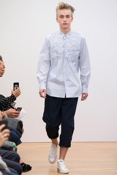 Comme des Garçons Shirt Spring 2015 Menswear - Collection - Gallery - Look 1 - Style.com