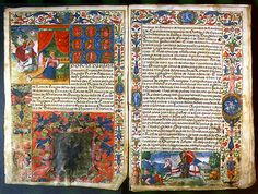 In favor of Juan Garcia y la Puente Carta executoria Granada, Spain, 16 June 1543  Parchment, 38 folios, 350 x 210 (330 x 212) mm, 35 lines, in Spanish, written in a rounded gothic hand.  Penn Library Exhibition - from collection of Lawrence J Schoenberg