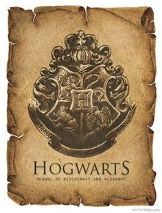 Harry Potter World: ESCUDOS HOGWARTS VINTAGE