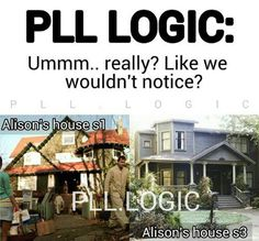 Pretty Little Liars PLL LOGIC Alison Alison's house. The second house was way better. Preety Little Liars, Pretty Little Liars Quotes, Best Tv Shows, Best Shows Ever, Favorite Tv Shows, Tessa Thompson, Bruce Banner, Malec, Clone Wars