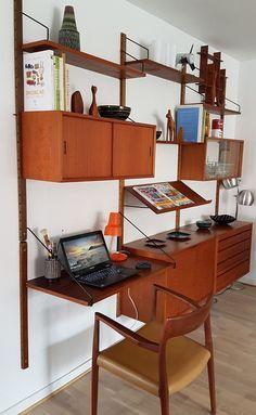 Bilderesultat for veggen deluxe Desks, Interior, Furniture, Home Decor, Mesas, Decoration Home, Indoor, Room Decor, Home Furnishings