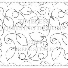 Continuous Line Loops & Leaves by Quilts Complete