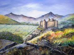 Jayne Russell Art  Harlech Castle
