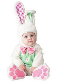 Kids Rabbit & Bunny Costumes: Baby Bunny Costume (more details at Halloween-Kids-Costumes.com) #Easter #Halloween #costumes