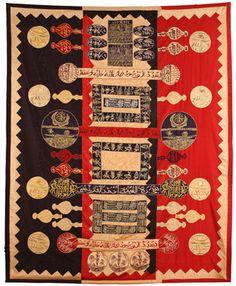 Rachid Koraichi - Etendards, Installation les Ancêtres liés aux Etoiles