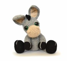 Dylan The Donkey Amigurumi Pattern
