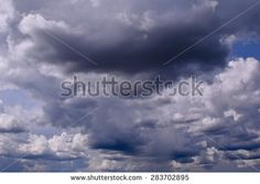 dark sky with clouds befor stormy