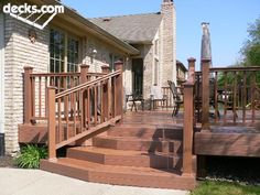 Low Elevation Deck Picture Gallery stairs