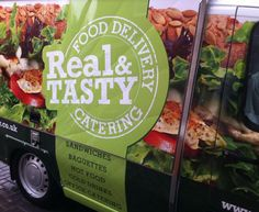 Graphic Design for sandwich delivery van livery