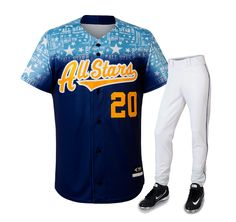 Baseball Team Uniforms - Premier Set #wearforza