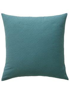 Gewebte Kissenhülle. Passend zur Tagesdecke. In 2 verschiedenen Größen. Materialzusammensetzung: Obermaterial: 100% Baumwolle...