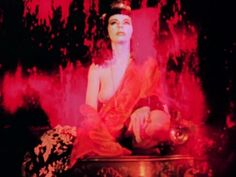 Marjorie Cameron nude scene in Inauguration of the Pleasure Dome, directed by Kenneth Anger, 1954 Arte Horror, Horror Art, That Old Black Magic, Kenneth Anger, Poesia Visual, Season Of The Witch, Vintage Horror, Manado, Red Aesthetic
