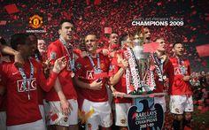 Barclays Premier League Champions - 2009 Premier League Champions, Barclay Premier League, Soccer League, Manchester United Football, European Football, Europa League, Victoria Justice, Man United, Football Team