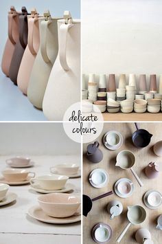 Ceramics by Kirstie Van Noort via The Style Files.