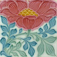 Inurielle | lapetiteflamme: Art nouveau tile ca 1903/1905 ...