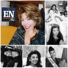 Milka Chulina, ganadora del concurso Miss Venezuela en 1992 (ARCHIVO EL NACIONAL)