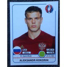 Football Soccer Sticker Panini UEFA Euro 2016 #177 Russia