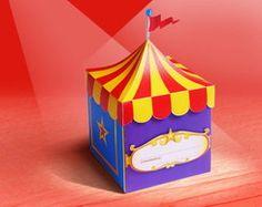 Convite Festa Circo