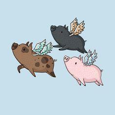 Flock of Flying Pigs