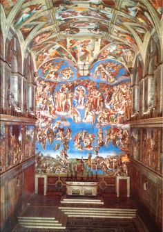 Capilla Sixtina de Miguel Ángel, Museo del Vaticano, Roma, Italia