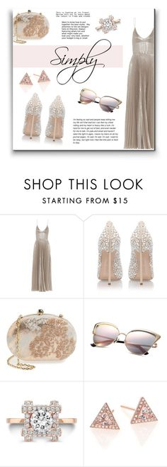 """""""Senza titolo #840"""" by francescar ❤ liked on Polyvore featuring Rochas, Casadei, Menbur, love, FiRE and EF Collection"""