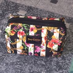 Juicy Couture Cosmetics Bag Beautiful Never Used Cosmetic Bag Juicy Couture Bags Cosmetic Bags & Cases
